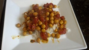curried chickpeas 1