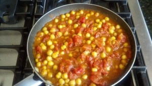 curried chickpeas 3